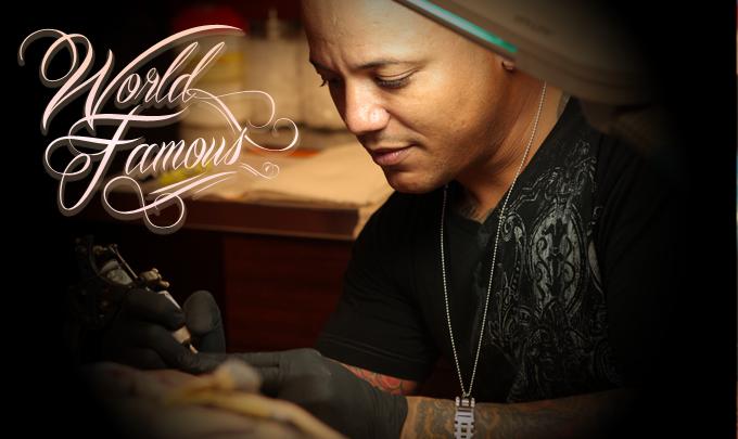 World famous orlando tattoo artist jc hart and for Best tattoo artist in orlando