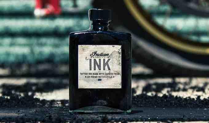 Indian Motorcycle Ink bottle