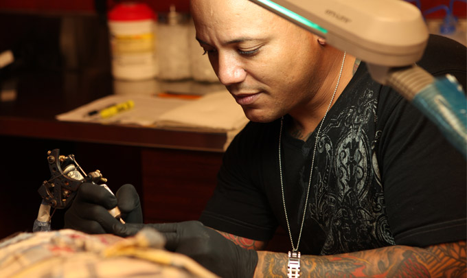 World Famous Orlando Tattoo Artist JC | Hart and Huntington Orlando