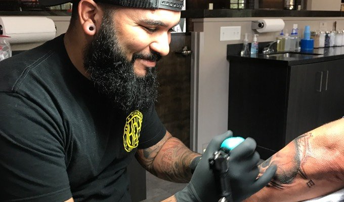 World Famous Orlando Tattoo Artist JC | Hart and Huntington